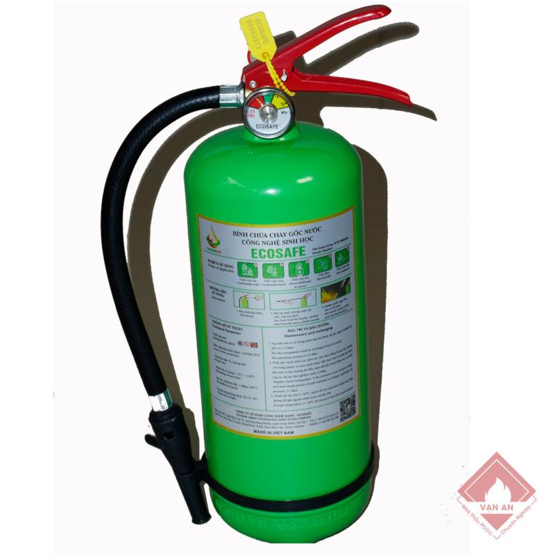 Bình chữa cháy gốc nước Ecosafe 4lit